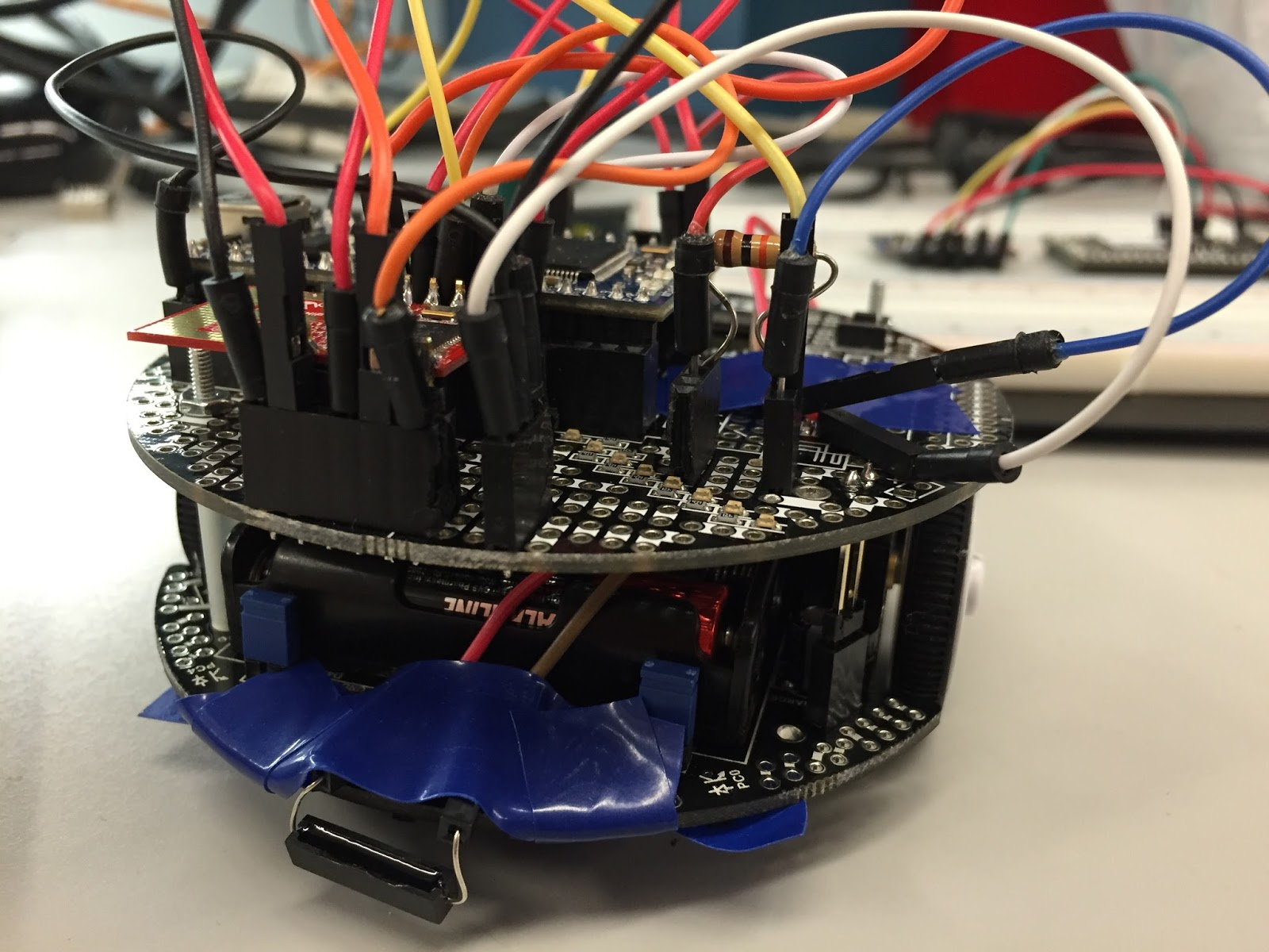 Multi Robot Area Covering Switching From Hall Effect Sensor To Reed How Build A Circuit I Even Tried Connect Two Switches In Parallel Extend The They Can Detect But It Didnt Help Too Much Because Primary Problem Is