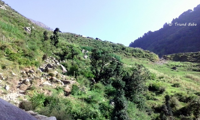 Khodtru Dhar Gothe and the Trail to Parai Gothe on Jalsu Trail