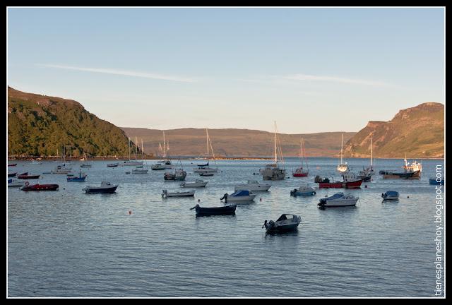Portree Isla de Skye (Escocia)