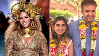 Mukesh Ambani's daughter Isha Ambani, who is the richest and Reliance Industries chairman, is married to Anand Piramal on December 10 in Udaipur. International Pop Star Beyoncé is coming to perform this grand wedding ceremony.