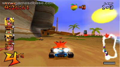 Download CTR - Crash Team Racing PS1 emulator PCSX zona-games.com