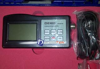 Darmatek jual Dekko VM-8200 Vibration Meter