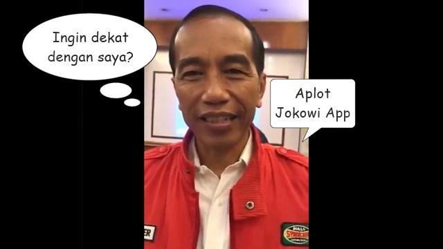 Salah Sebut Download Jadi Upload, Netizen: Jokowi Malu-Maluin