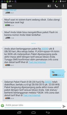 Cara Beli Paket 8GB 50 Ribu Telkomsel Terbaru