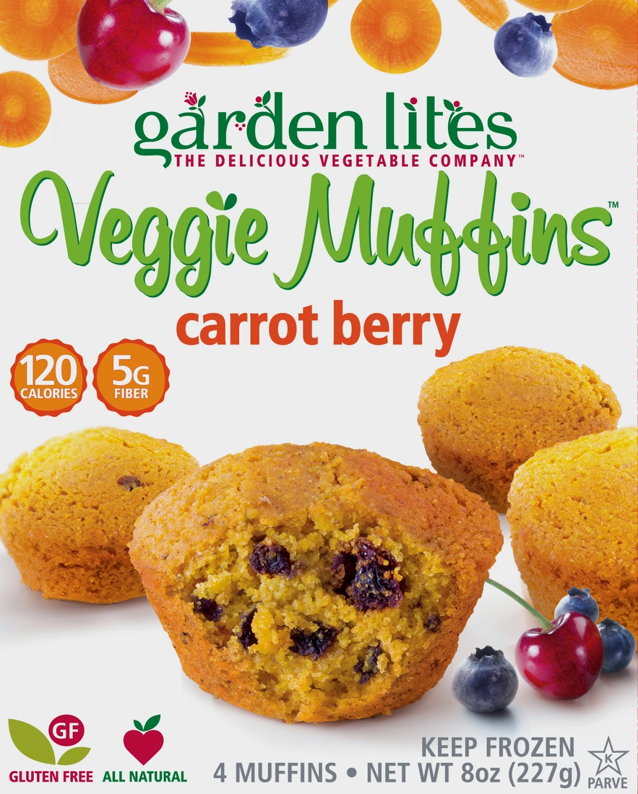 New age mama ring in the new year with garden lites extra - Garden lites blueberry oat muffins ...