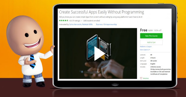 [100% Off] Create Successful Apps Easily Without Programming| Worth 200$