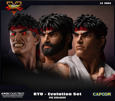 La statua di Ryu Hoshi da Street Fighter V della Pop Culture Shock