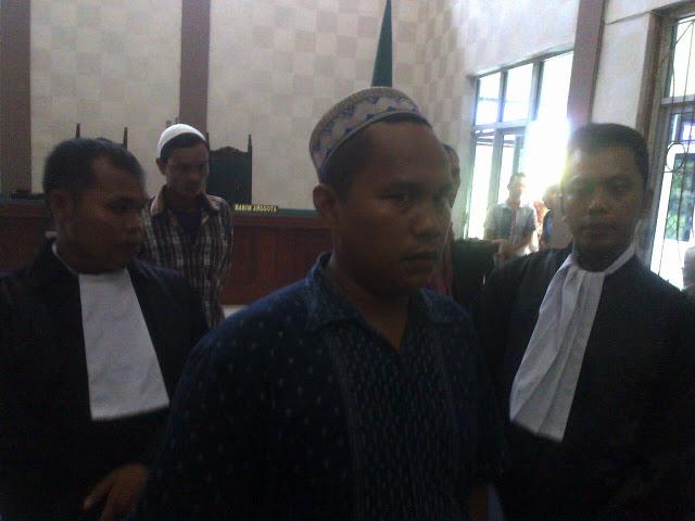 Pemicu Kerusuhan di Aceh Singkil Divonis 7 Bulan Penjara