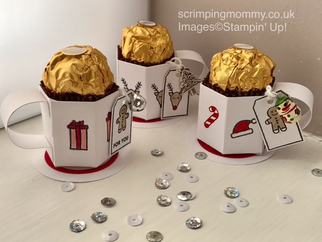 Christmas Craft Fair Ideas Part - 18: Craft Fair Idea Mini Cup Ferrero Treat