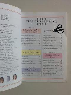 101 tips Terpenting Dasar Menjahit