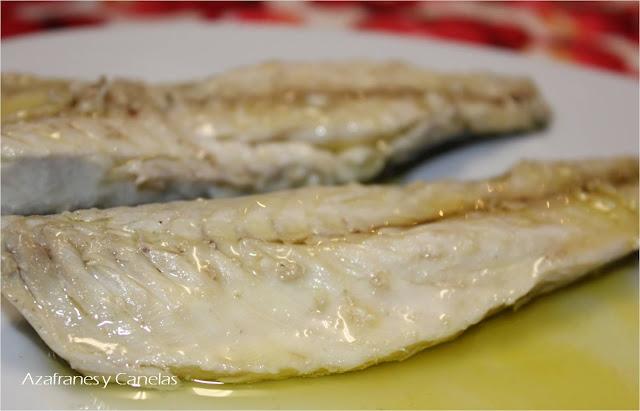 Conserva de filetes de caballa  Azafranes y Canelas