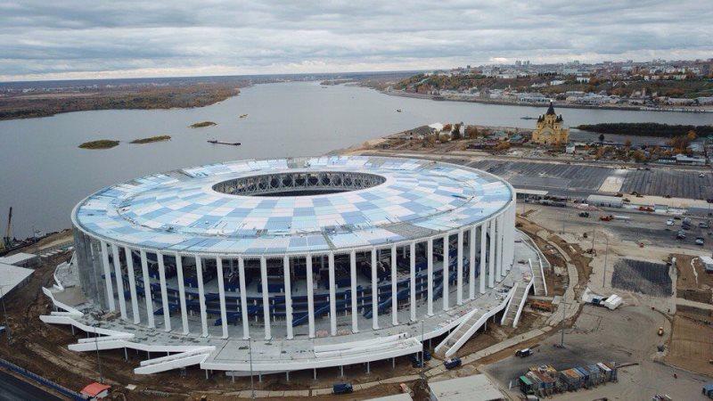 Stadion Nizhny Novgorod, Rusia | Piala Dunia FIFA 2018