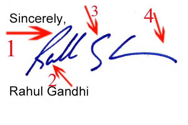 analysis of mahatma gandhi's handwriting