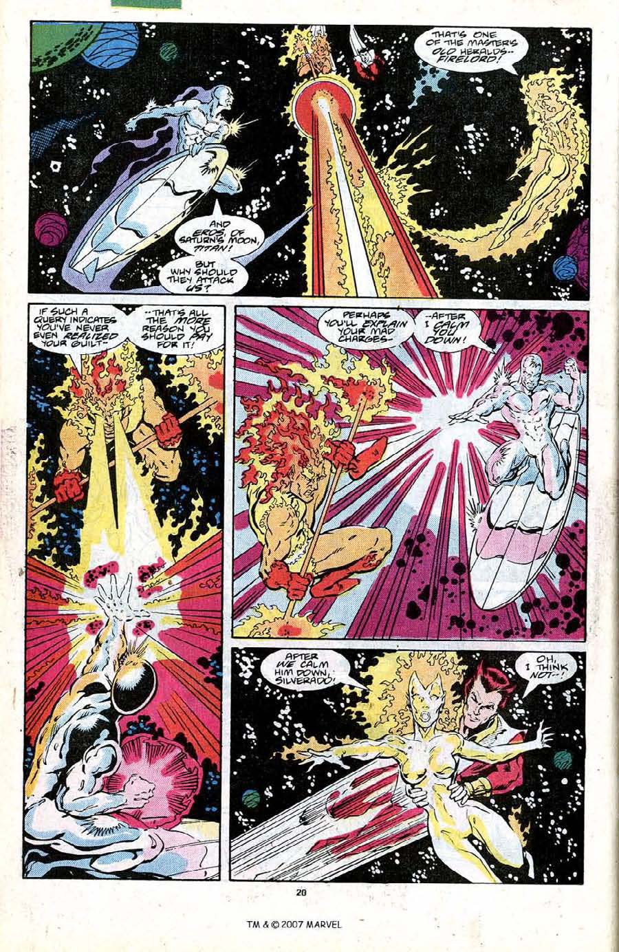 Read online Silver Surfer (1987) comic -  Issue #19 - 22
