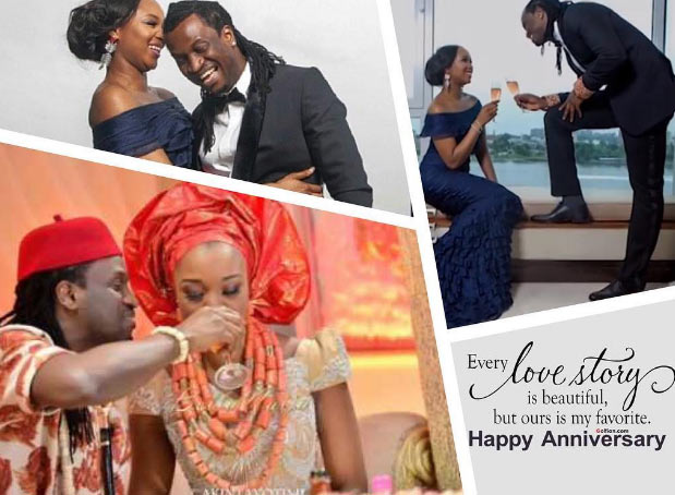 No one like you - Anita gushes over Paul Okoye as couple celebrate 3 years of marriage