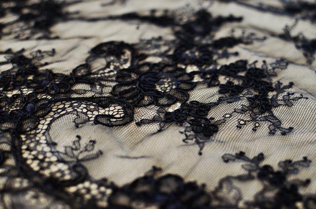 Fabric Friday: Alençon Lace | A Fashionable Stitch