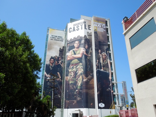 Giant Doomsday Castle season 1 billboard
