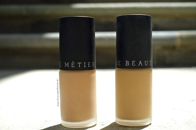 le metier de beaute afterglow foundation swatches