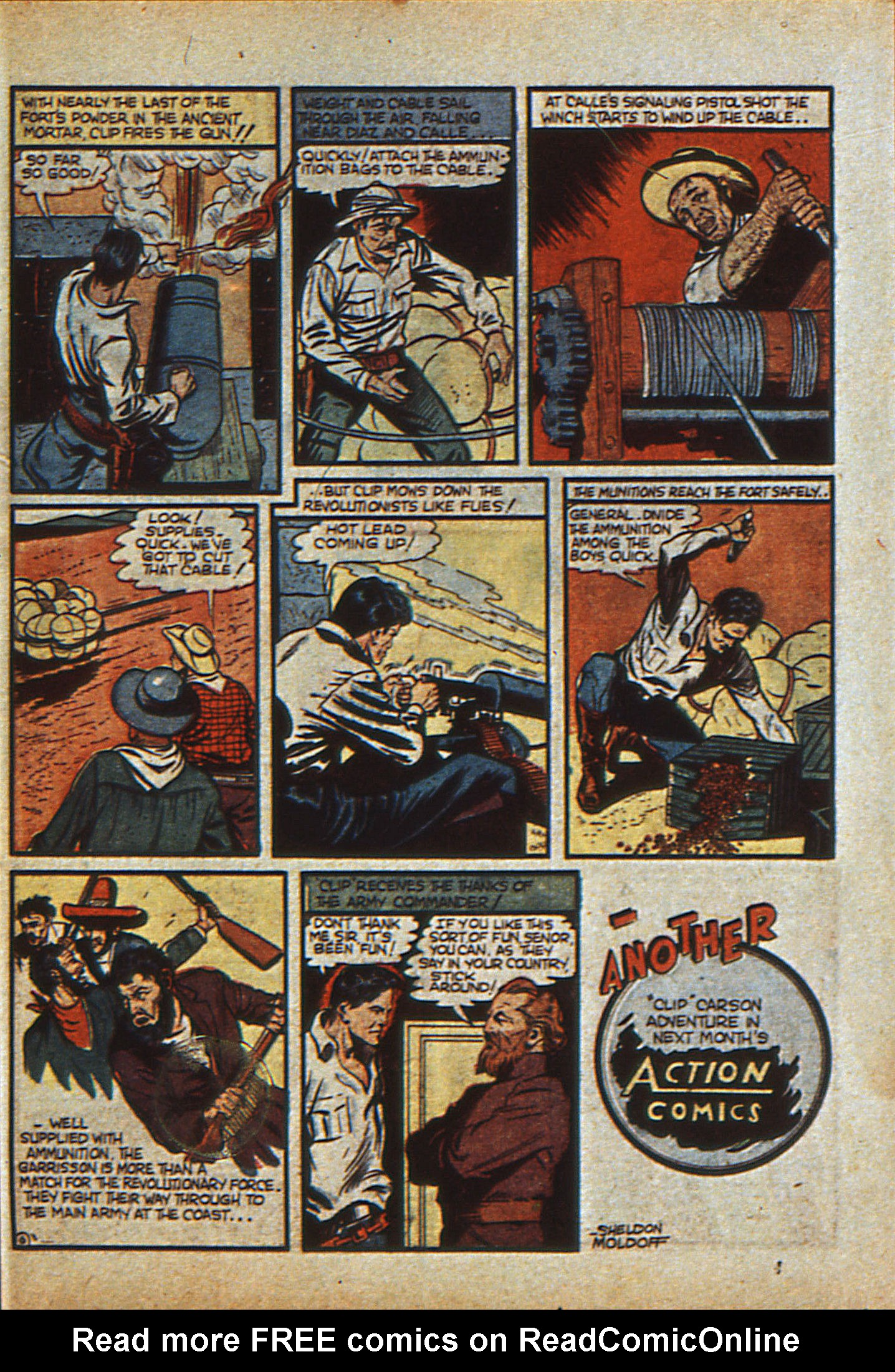 Read online Action Comics (1938) comic -  Issue #23 - 54