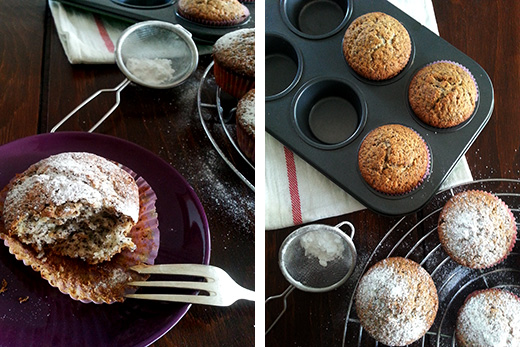 vegane Mohn-Zitronen-Muffins Dinkelmehl Holunderweg 18 Foodblog Blog