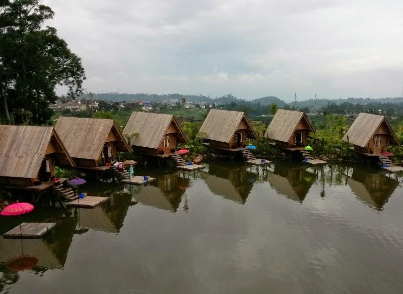 Dusun Bambu, tempat wisata baru di Bandung