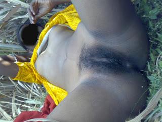 Desi Indian Bhabhi Chodai, Fucking in Farm