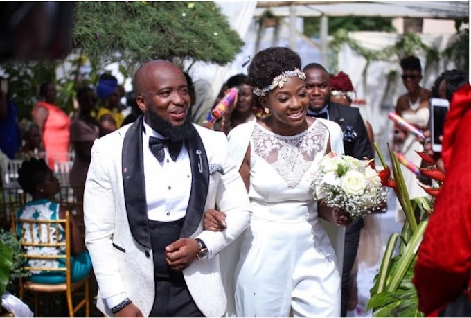 Wedding Photos: Rapper Trigmatic marries his longtime girlfriend Dita Schandorf
