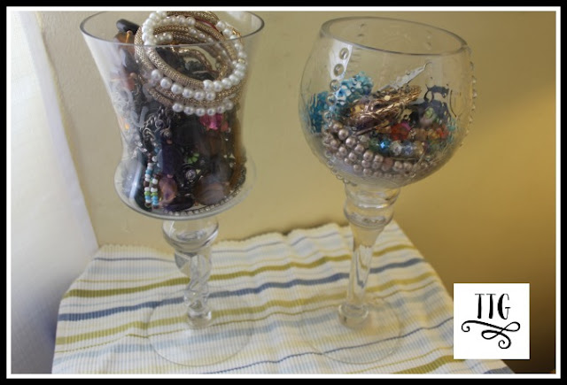 This is how I used to store my bracelets before I did How to make a simple, easy and thrifty bracelet organizer at thethriftygroove.com