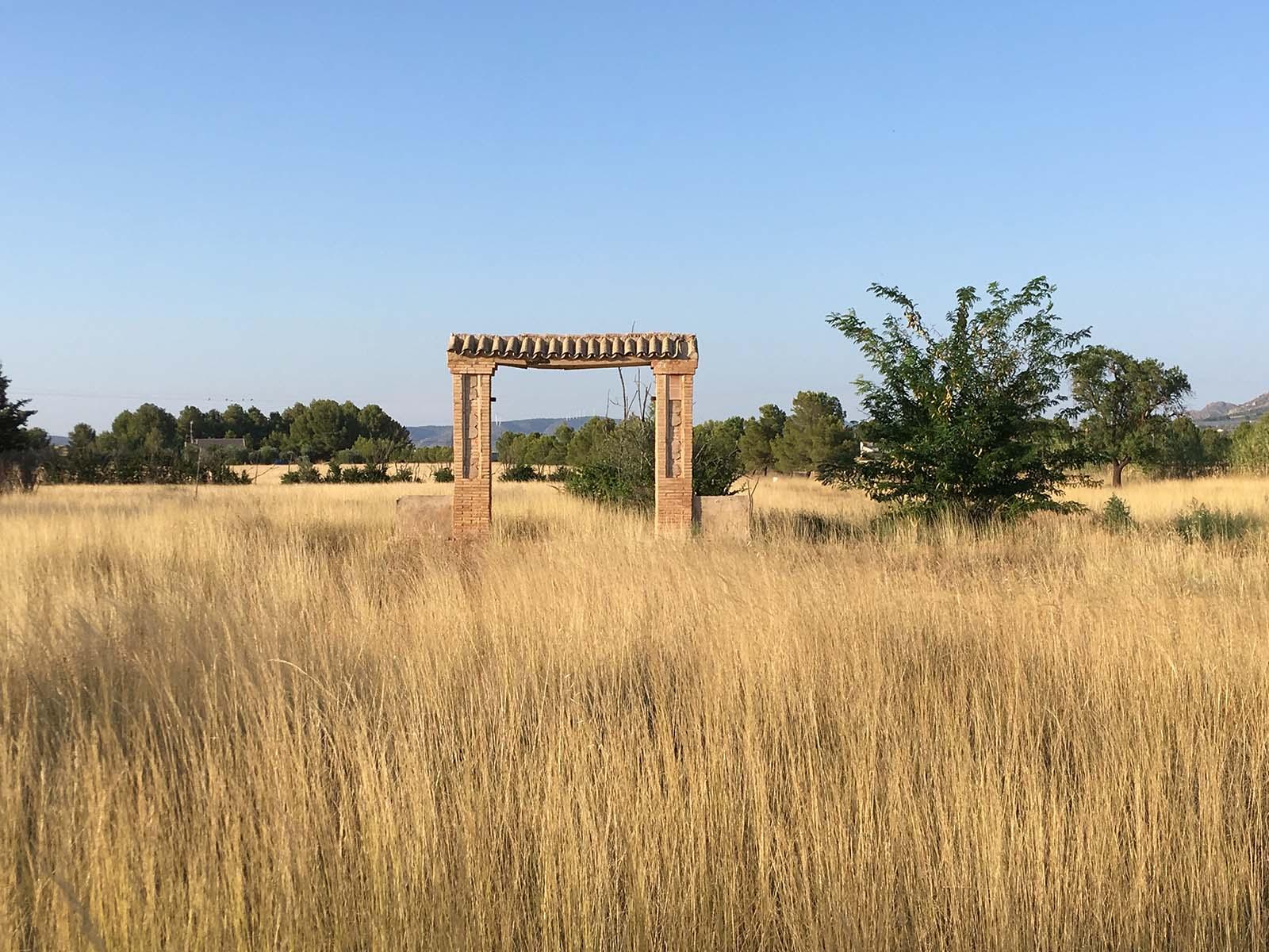 restos del esplendoroso jardín de la Maneta vieja