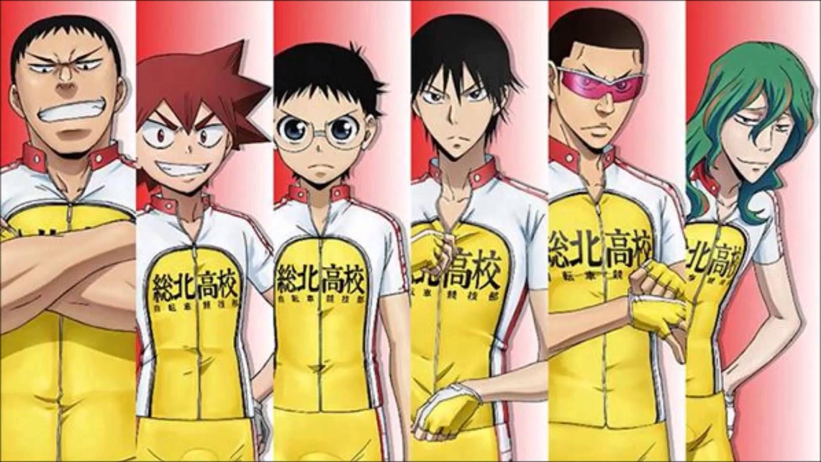 Yowamushi Pedal Anime Season 4 In Production