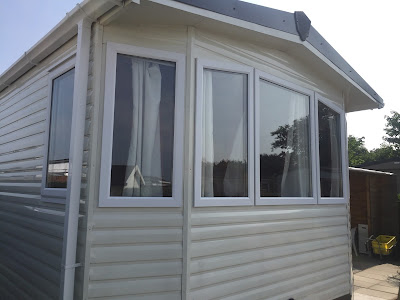 Static caravan double glazing in The Netherlands