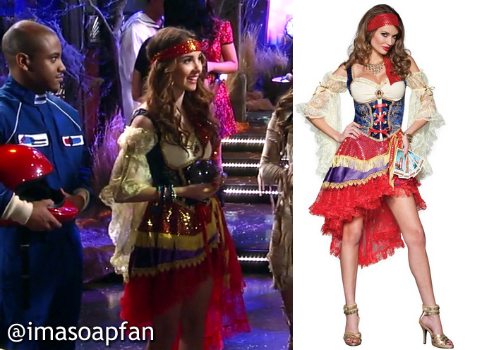 Molly Lansing S Gypsy Fortune Teller Costume General