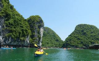 Isla de Cat Ba. Bahía de Lan Ha, Kayak.