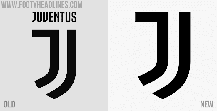 Official Juve Ditches Juventus Lettering From Logo Footy Headlines