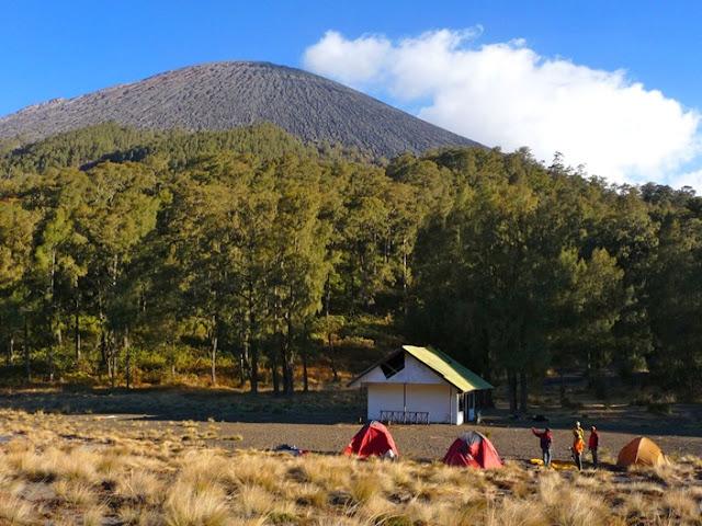 5 best tourist locations in Mount Semeru