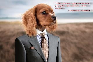 """Хайнрих Хайне:""""Колкото повече опознавам хората, толкова повече харесвам кучетата."""""""