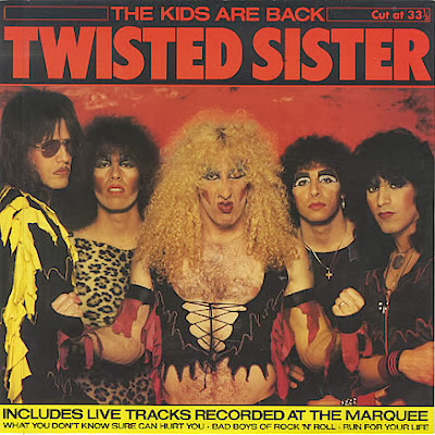 Twisted Sister The Kids Are Back EP 1983