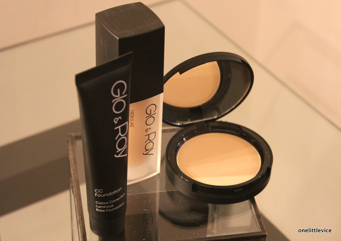 one little vice beauty blog: glo&ray cc cream foundation and powder