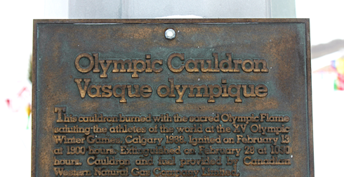 Canada Olympic Park Olympic Cauldron Calgary Alberta
