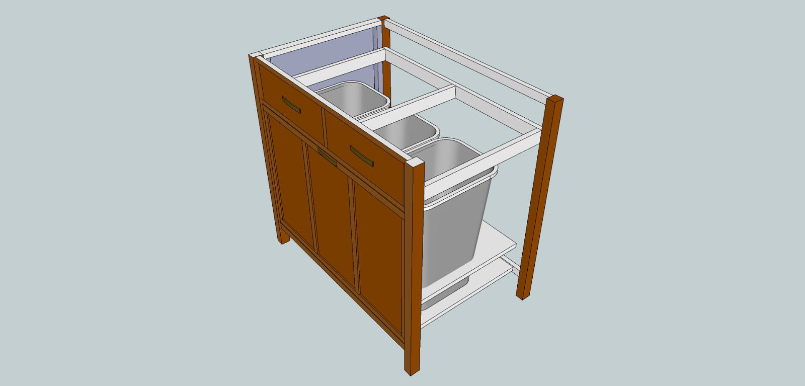 fine wood finishing sketchup and cabinet design