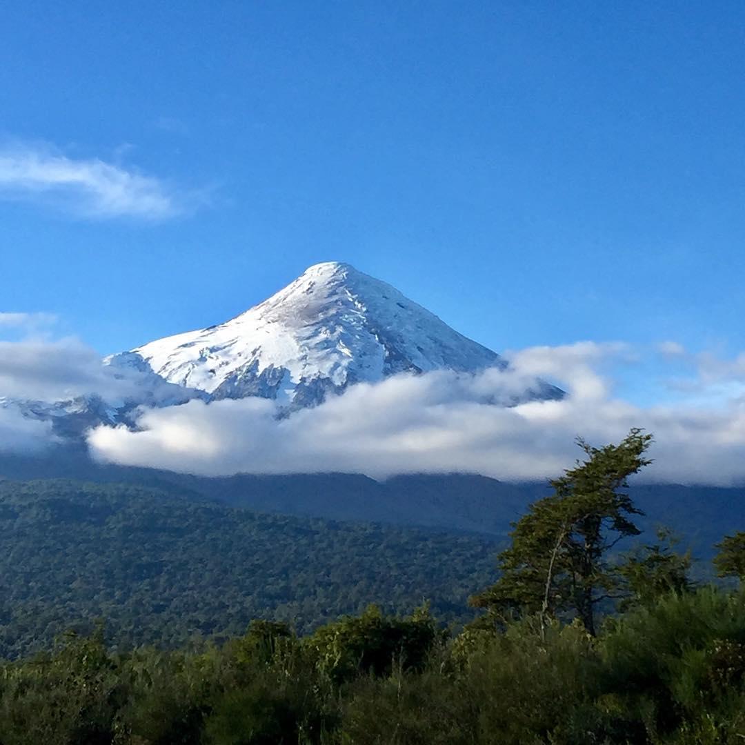 Decretan alerta amarilla para el volcán Osorno
