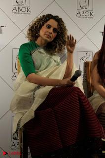 "Actress Kangana Ranaut Pos in Lehenga Choli at ""Between the Poet and her Pencil"" Book Launch  0001.jpg"