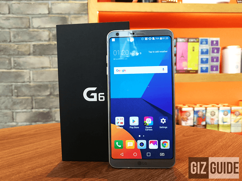 Report: LG G6 Is Down To Just PHP 31990 For A Limited Time?