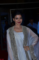 Samantha Ruth Prabhu cute in Lace Border Anarkali Dress with Koti at 64th Jio Filmfare Awards South ~  Exclusive 050.JPG