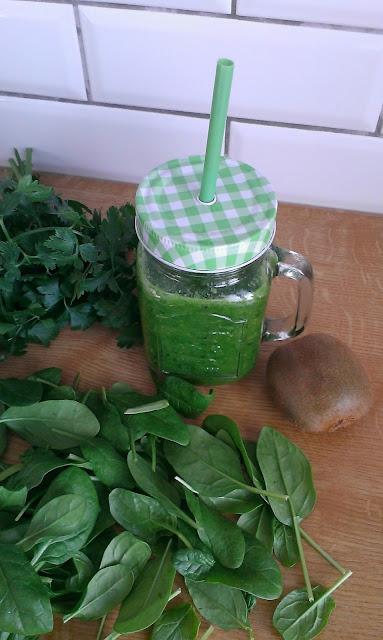 sok zielony ze szpinaku