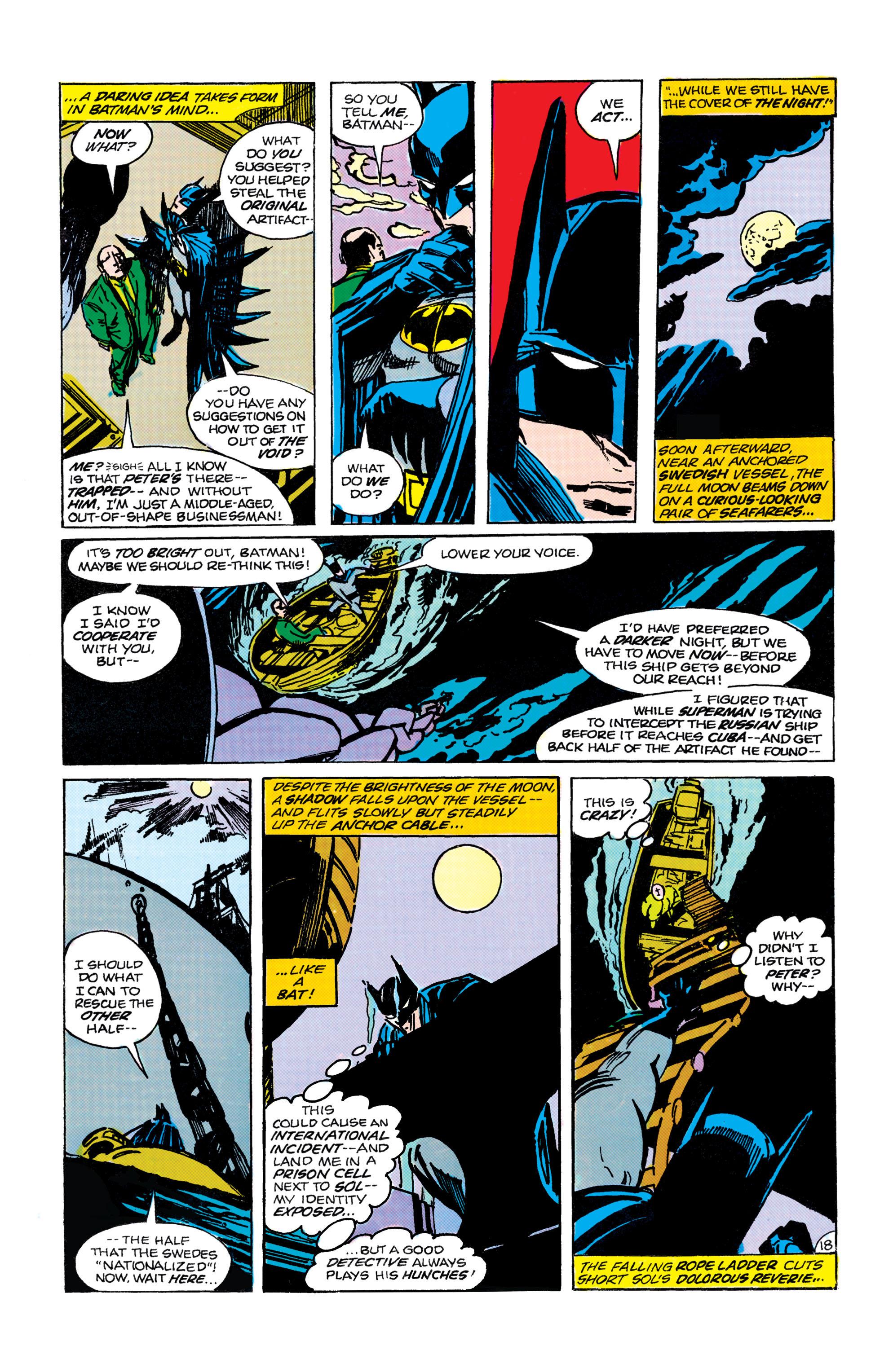 Read online World's Finest Comics comic -  Issue #305 - 19