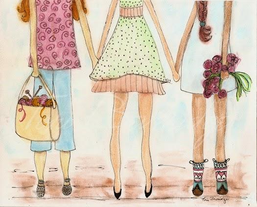 Girl Friends by Tori Beveridge 2014