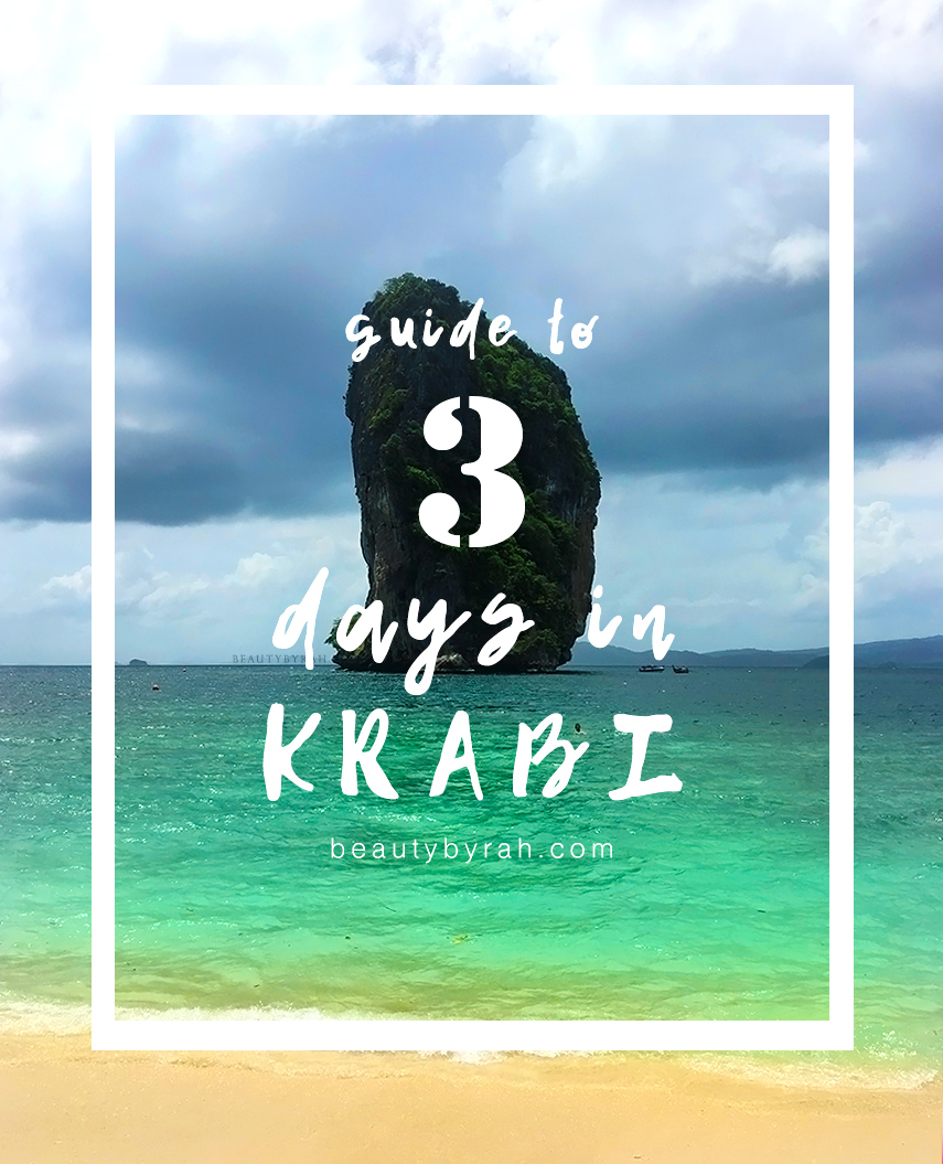 3 Days in Krabi Guide including 4 island tour, Railay rock climbing and Ao Nang Beach