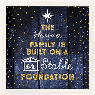 stable foundation print
