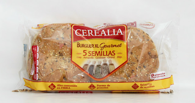 degustabox cerealia hamburguesa